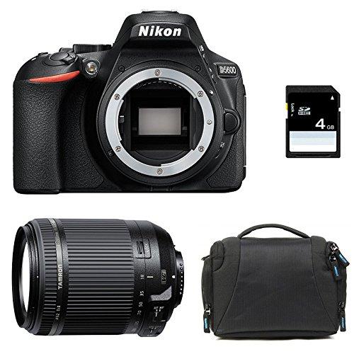NIKON D5600 + TAMRON 18-200 VC + Sac + Carte SD 4Go
