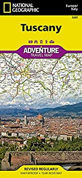 Tuscany [Italy]  National Geographic Adventure Map 3305