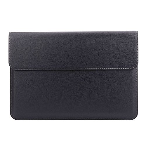 Megoo Leather Cover for Micosoft Surface Pro 3/Pro 4/Pro 5/Pro 6/Pro 7/Pro 7 Plus 12.3-Inch - Black