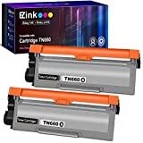 E-Z Ink (TM) Compatible Toner Cartridge Replacement for Brother TN660 TN630 High Yield to use with HL-L2380DW HL-L2300D HL-L2340DW MFC-L2680W MFC-L2740DW MFC-L2685DW Printer (Black, 2 Pack)