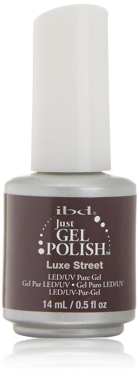 おじさん読書をする皿ibd Just Gel Nail Polish - Luxe Street - 14ml / 0.5oz