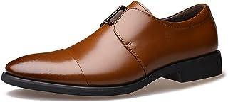 [Orktree] ビジネスシューズ 本革 紳士靴 防水 滑り止め スリッポン リーガル 靴 メンズ プレーントゥ 革靴 メンズビジネスシューズ