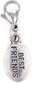 Small Best Friends Clip on Charm Perfect for Necklaces Bracelets 99V