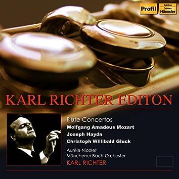 Karl Richter Edition: Flute Concertos