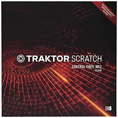 Native Instruments Traktor Scratch Control Vinyl MK2 Clear