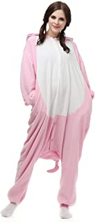 Xmas Animal Costume Unisex Adult Halloween Cosplay Pig Pajamas for Party