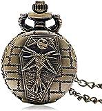 Pocket Watch Fullmetal Alchemist Pocket Watch with Chain Box for Cosplay Accessories