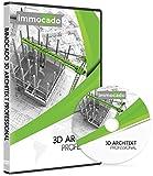 Immocado 3D Architekt Professional 2020 - 2D & 3D CAD Hausplaner Software und Architektur Programm mit Grundriss-Erstellung und Gartenplaner zur Bauplanung