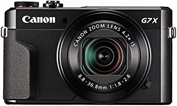 Canon PowerShot G7X 20.2Mp con zoom óptico de 4.2x y 3pulgadas LCD (Negro)