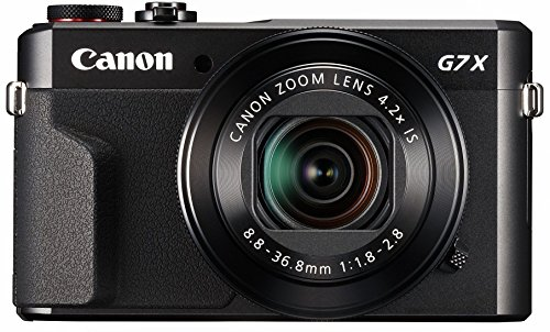 3. Canon PowerShot G7 X Mark II Travel Camera