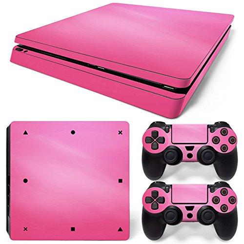Mcbazel Pattern Series Decals Vinyl Haut Aufkleber für PS4 Slim (Pink)