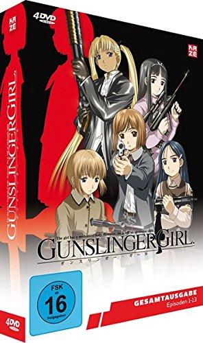 Gunslinger Girl - Staffel 1 - Gesamtausgabe - [DVD]
