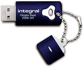 Integral INFD8GCRYPTODL197 - Memoria USB de 8 GB, con encriptado