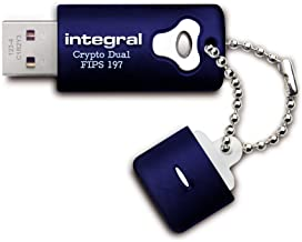 Integral 8GB Crypto Dual - FIPS 197 Encrypted USB