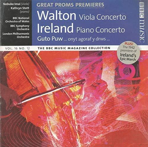 Great Proms Premieres Walton Viola Concerto Ireland Piano Concerto audio cd product image