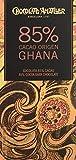 Chocolate Amatller - Tableta de chocolate (85% cacao Ghana) - 18 tabletas de 70 gr. (Total 1260 gr.)