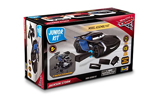 Revell Jr. Cars 3 Jackson Storm Model Assembly Kit Model Kit