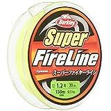 バークレイ(Berkley) PEライン 150m 1.2号/20lb グリーン スーパーファイヤー 釣り糸