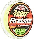 バークレイ(Berkley) PEライン 150m 1.0号/16lb グリーン スーパーファイヤー 釣り糸