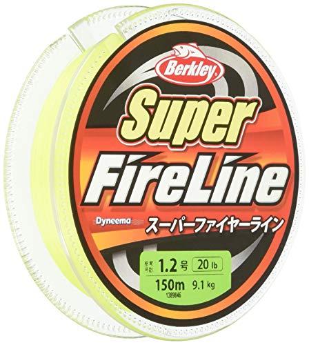 バークレイ(Berkley) PEライン 150m 2.0号/30lb グリーン スーパーファイヤー 釣り糸