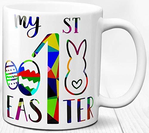 Meine erste Ostern Becher Ostern Baby Kind Geschenk 330 ml Keramik Tasse Festival Dekor
