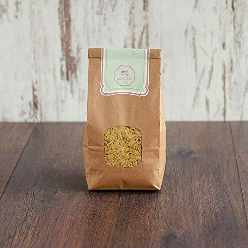 süssundclever.de® Bio Nudeln in Reisform   1 kg   Risoni   Orzo   plastikfrei und ökologisch-nachhaltig abgepackt