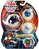 Bakugan Starter Pack 3-Pack, Darkus Gorthium, Collectible Transforming Creatures, for Ages 6 and Up