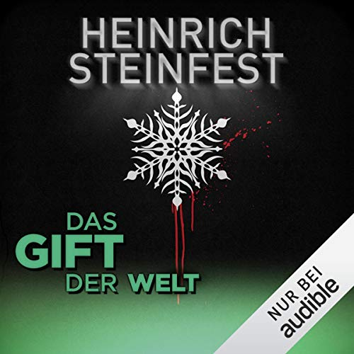 Das Gift der Welt     Winterthriller              By:                                                                                                                                 Heinrich Steinfest                               Narrated by:                                                                                                                                 Martin Hecht                      Length: 53 mins     1 rating     Overall 5.0