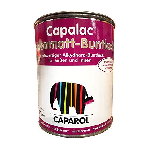 Caparol Capalac - Pintura mate de color (0,75 ml, para interior y exterior), color amarillo colza RAL 1021