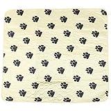 Nikou DDog Puppy Urine Mat - Four-Layer Anti-Slip Bottom Reusable Washable Pet Cat Pee Pad Waterproof Urine-Proof(7080cm -Yellow)