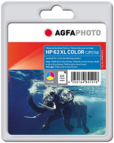 AgfaPhoto APHP62CXL Remanufactured Tintenpatronen Pack of 1