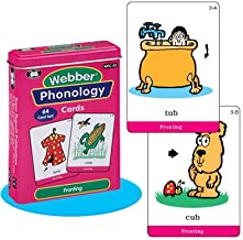 Super Duper Publications Webber Illustrated Phonology Fronting Minimal Pair Card Deck Educational Learning Resource for Children