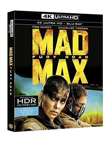 Mad Max - Fury Road 4K UHD (Blu-Ray) [Blu-ray]