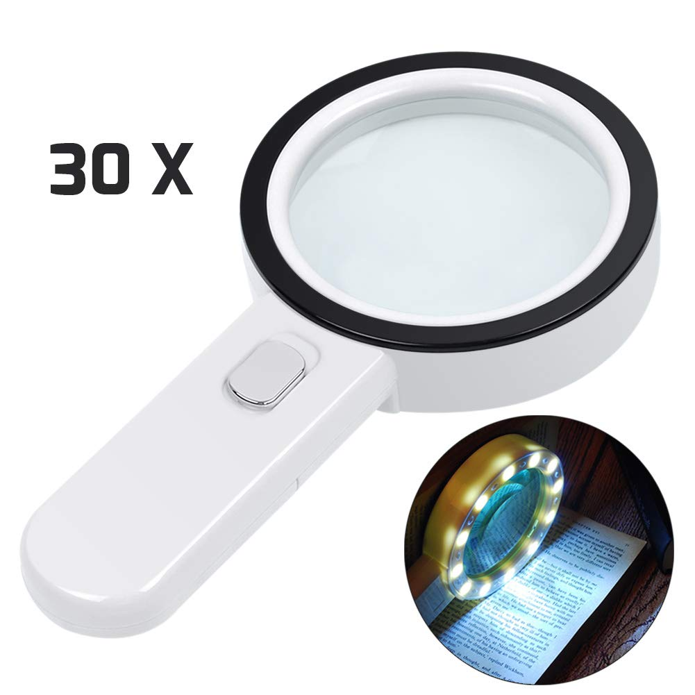 Magnifying Illuminated Magnifier Inspection Degeneration