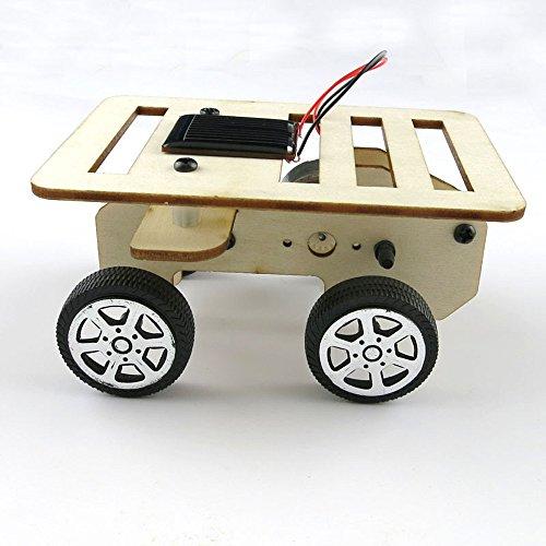 TianranRT Tecnologa de coche solar Pequeo Mini Juguete con energa solar Kit de coche DIY Nios Educativo Gadget Pasatiempo divertido (A)