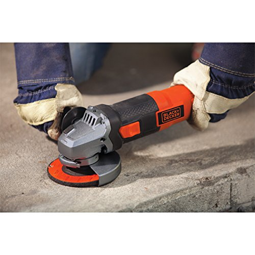 Angle Grinder Concrete Polishing