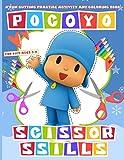 Pocoyo Scissor Skills: Impressive Preschool Cutting And Coloring Activity Workbook Pocoyo With Newest Unofficial Images