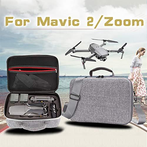LWL House Etui Portable Antichoc étanche for DJI Mavic 2 Pro/Zoom et Accessoires, Taille: 29cm x 19.5cm x 12.5cm Haute qualité (Couleur : Grey)