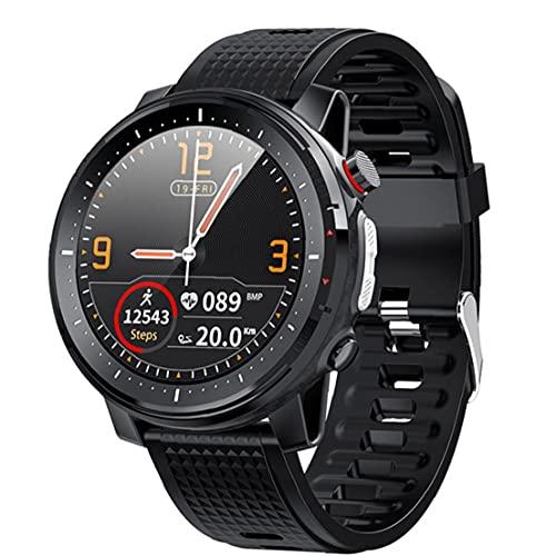 NaiCasy Inteligente Reloj Bluetooth Pulsera de los Deportes IP68 a Prueba de Agua Pantalla táctil Hombres Mujeres Aptitud del Reloj rastreadores Negro
