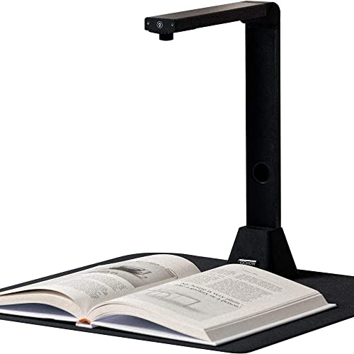 iOCHOW S5 Book & Document Camera, 22MP High Definition Professional Portable Book Scanner, Auto-Flatten & Deskew Tech...