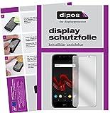 dipos I 6X Schutzfolie klar kompatibel mit Wiko Wim Lite Folie Bildschirmschutzfolie