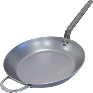 De Buyer MINERAL B Round Carbon Steel Fry Pan 12.5-Inch – 5610.32
