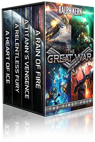 The Great War: Books 1-4: (A Military Sci-Fi Box Set) by [Ralph Kern]