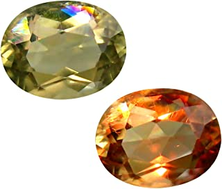 Deluxe Gems 3.22 ct Oval Cut (10 x 8 mm) Unheated/Untreated Turkish Color Change Diaspore Natural Loose Gemstone
