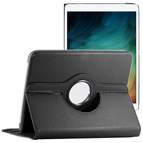 ebestStar – Carcasa compatible con Lenovo Tab M10 FHD Plus (2ª gen), funda protectora de piel sintética con soporte giratorio 360, color negro [Tab: 244.2 x 153,3 x 8.15 mm, 10.3'']