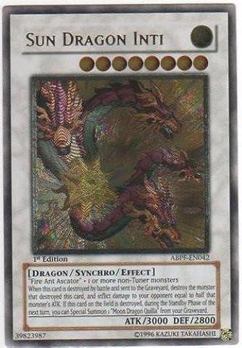 Yu-Gi-Oh  - Sun Dragon Inti (ABPF-EN042) - Absolute Powerforce - 1st Edition - Ultimate Rare by Yu-Gi-Oh