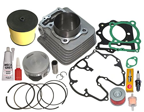 HONDA TRX400EX TRX 400EX 440cc BIG BORE CYLINDER PISTON RINGS TOP END KIT 99 00 01 02 03 04 05 06 07 08