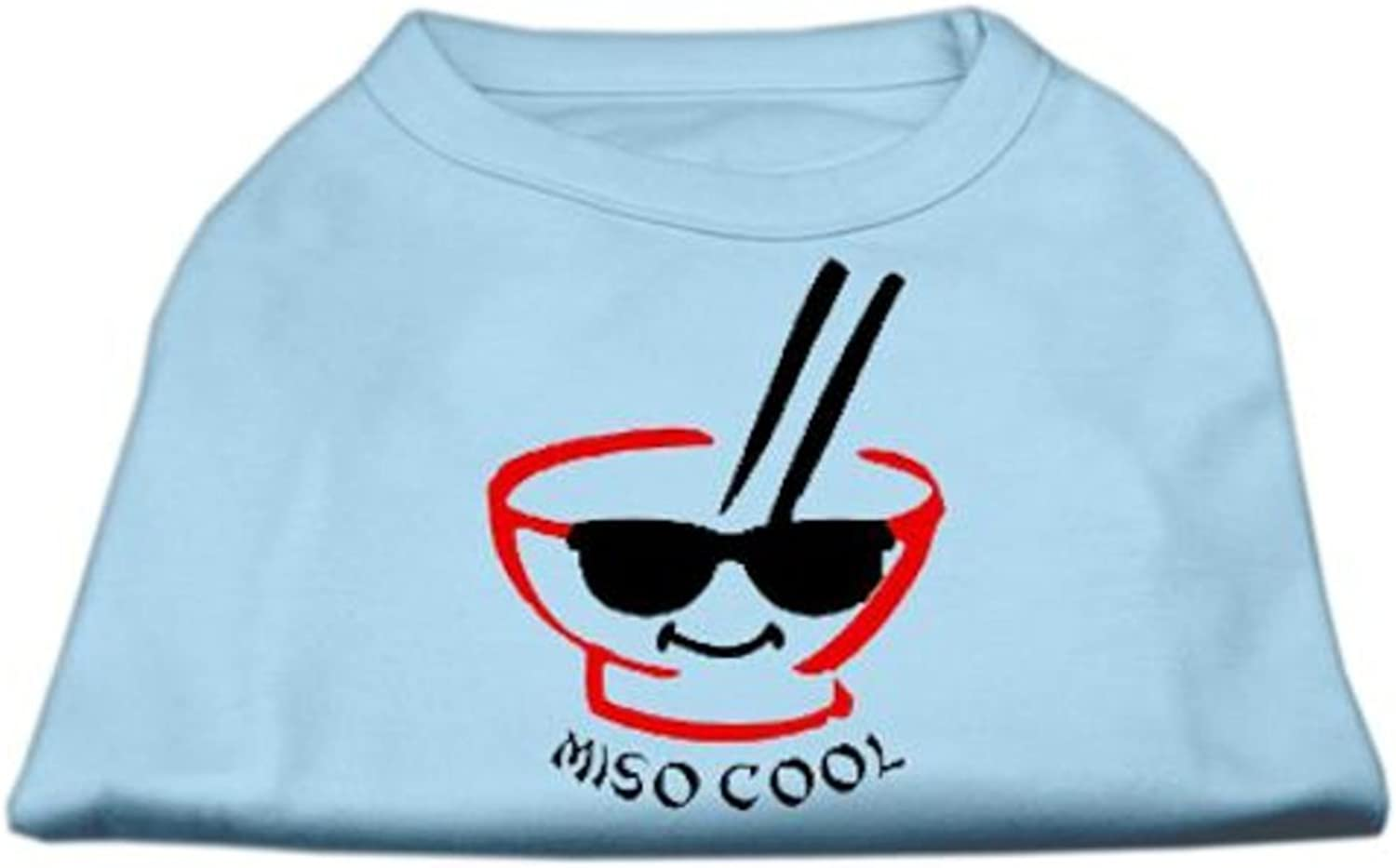 Dog   Cat   Pet Charms Miso Cool Screen Print Shirts Baby bluee XS (8)
