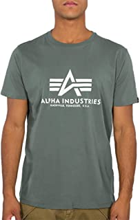 ALPHA INDUSTRIES Basic T-Shirt Camiseta para Hombre