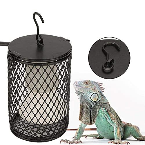 Reptilien Wärmelampen, E27 Keramik Wärmelampe mit Lampensockel Halter, 100W Terrarium Waermelampe für Schildkröte, Schlange, Eidechse, Hühner, Vögel, Chamäleon (Ohne Glühbirne)